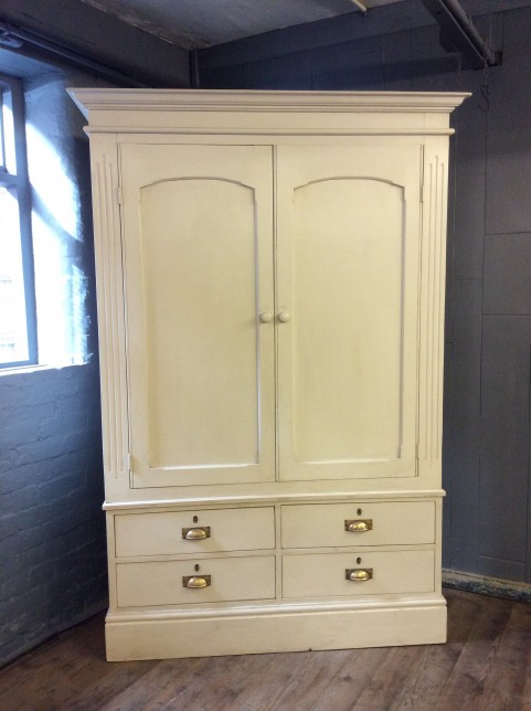 Painted cupboard with drawers