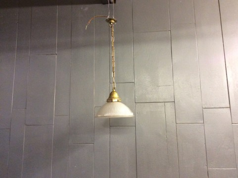 Holophane ceiling light
