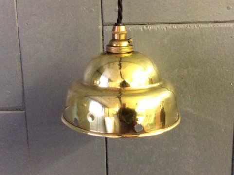 Brass 'posser' light