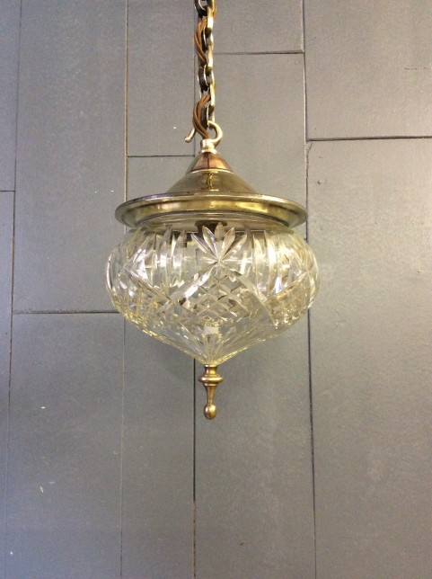 Art Nouveau ceiling light
