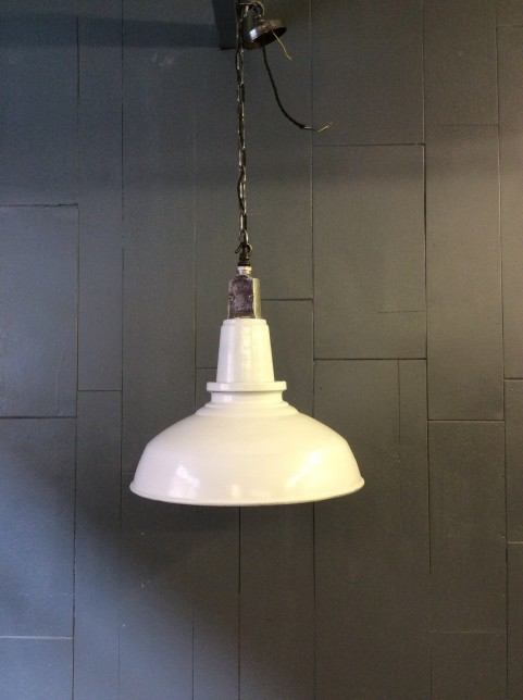 Enamel ceiling light