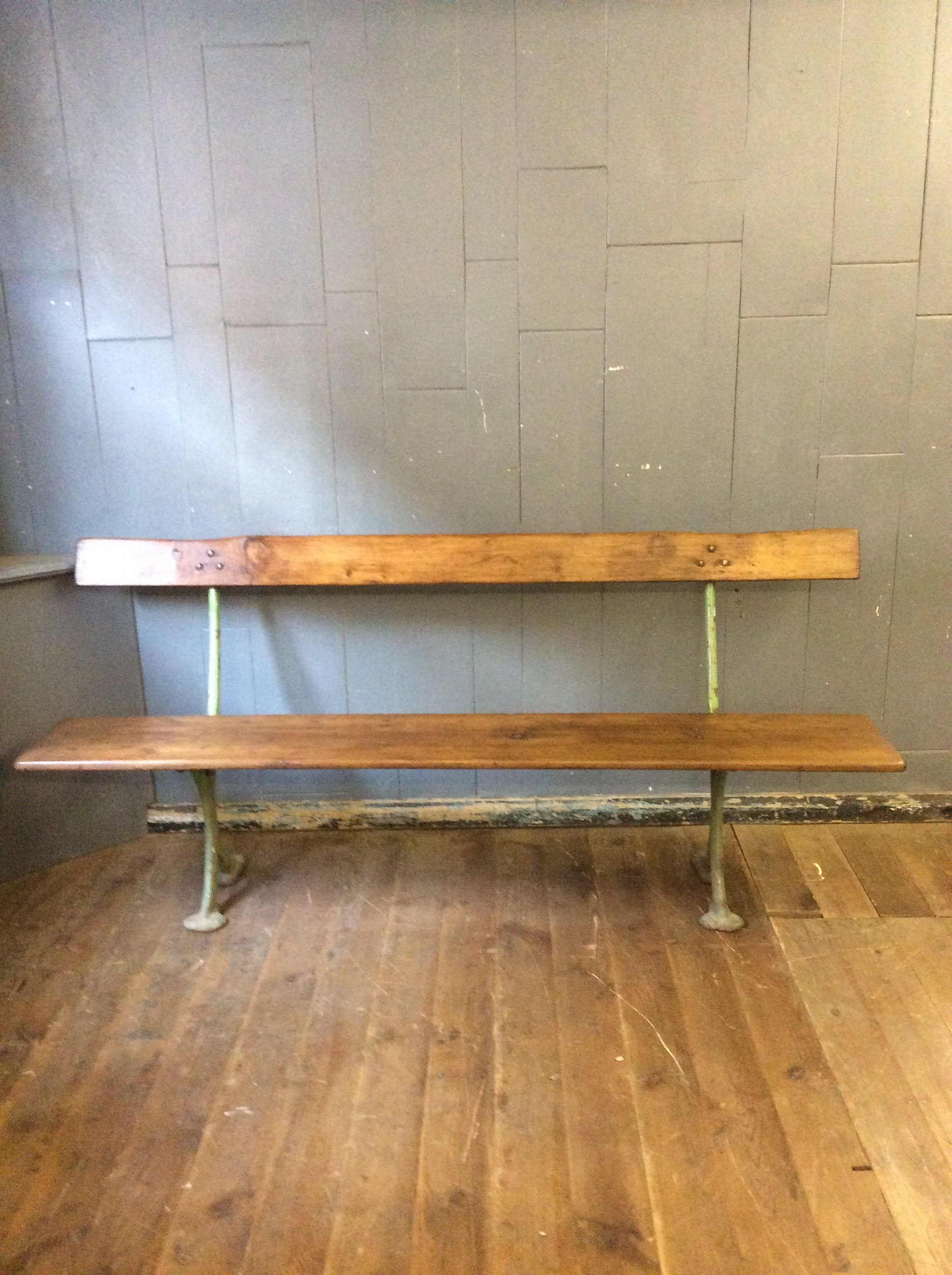 Victorian Railway Bench Odeon Antiques