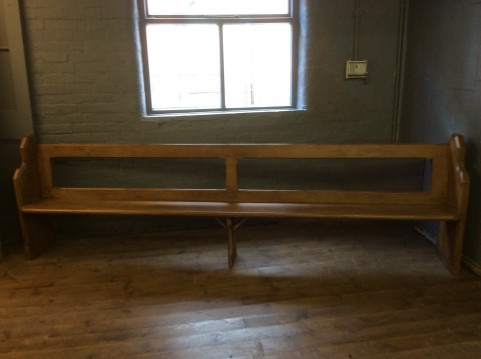 Original Church Pew