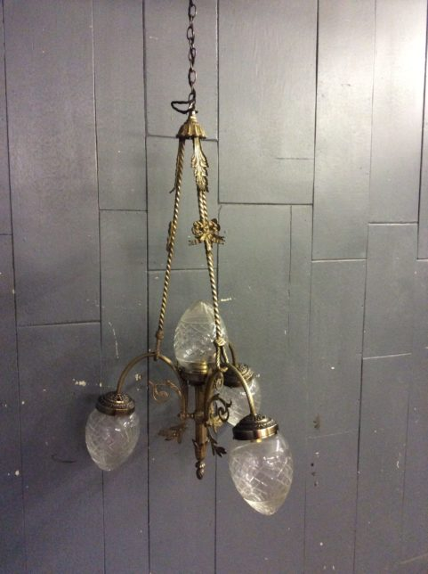 French Gilt Chandelier