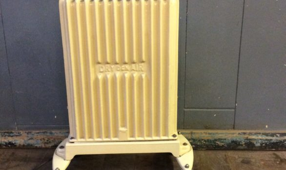 Vintage electric oil filled radiator