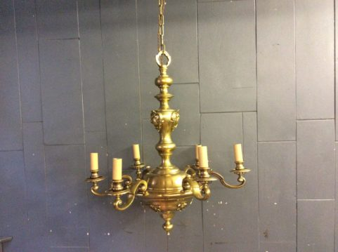 Ornate Brass Centre Light