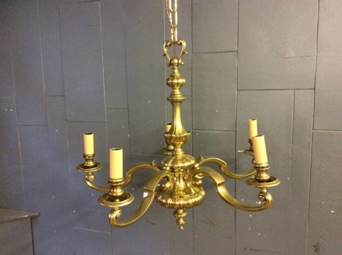 Original Brass Centre Light