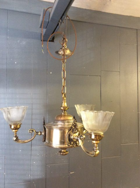 Wall lights odeon antiques brass chandelier aloadofball Gallery