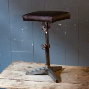 Adjustable Antique Industrial Stool