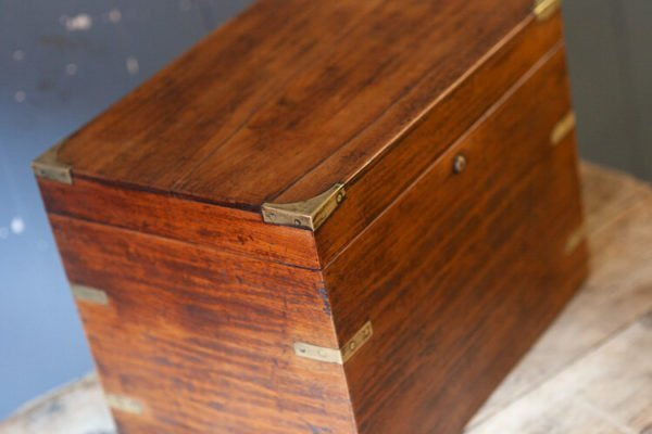 Antique Victorian Wooden Box Corners