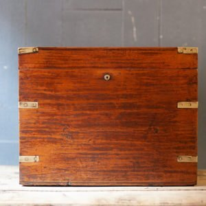 Antique Victorian Wooden Box Odeon