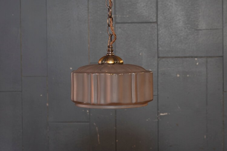 1930's Chain Pendant Light