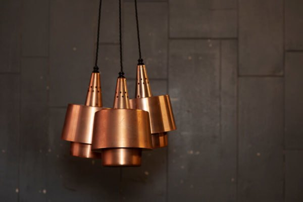 1950's Copper Pendants