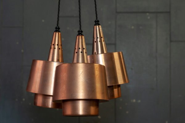 1950's Copper Pendants Trio
