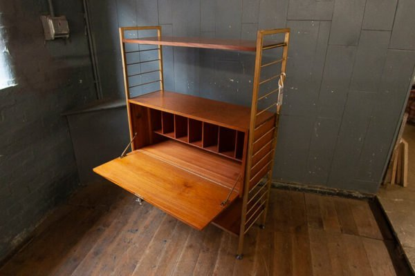 1950s Ladderax Shelf Unit Storage