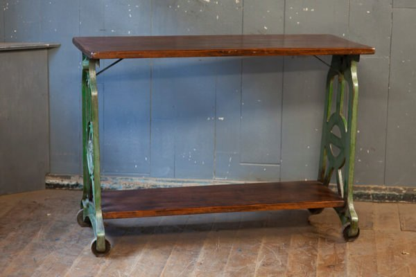 Cast Iron Console Pioneer Table