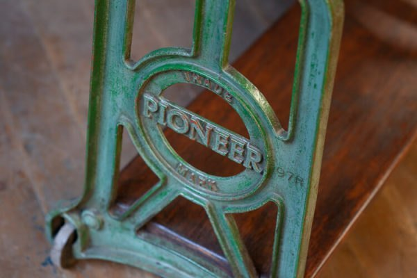 Cast Iron Console Pioneer Table PIONEER