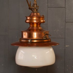 Converted Gas Station Hanging Light