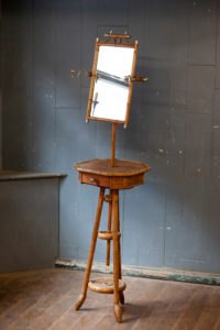 Edwardian Faux Bamboo Vanity Stand