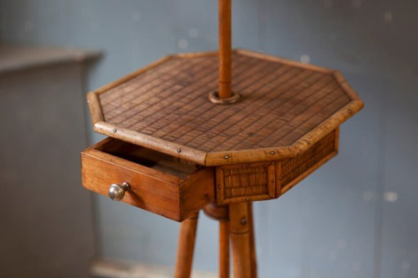 Edwardian Faux Bamboo Vanity Stand Draw