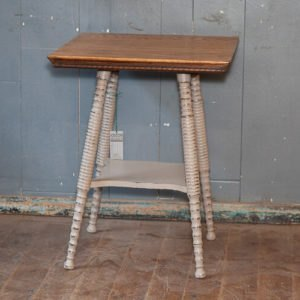 Edwardian Side Table on Bobbin Turned Legs