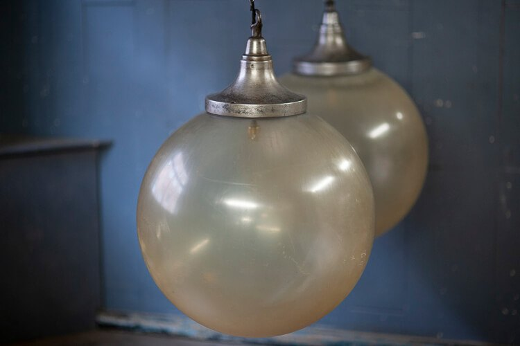 Extra Large Acrylic Dome Hanging Lights