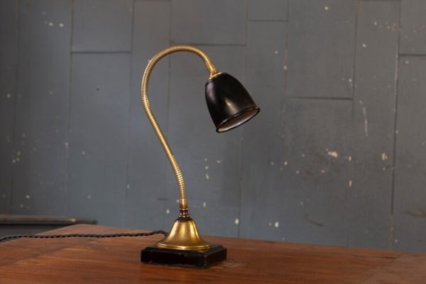 Flexible Brass Table Lamp