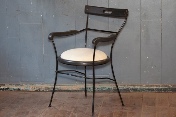 French Mid Century Café Chair