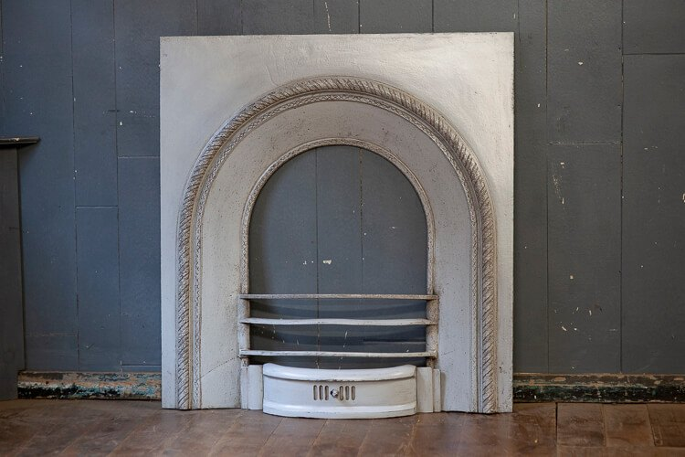 Georgian Cast Iron Fireplace Insert