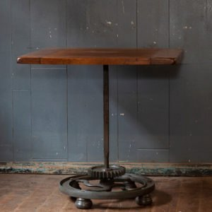 Industrial Upcycled Cog Base Table