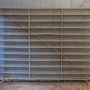 Large Vintage Wire Shoe Rack