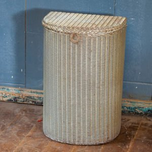 Lloyd Loom Laundry Basket Cream
