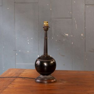 Upcycled Bowling Ball Table Light