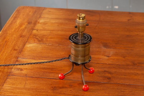 Upcycled Grenade Table Light