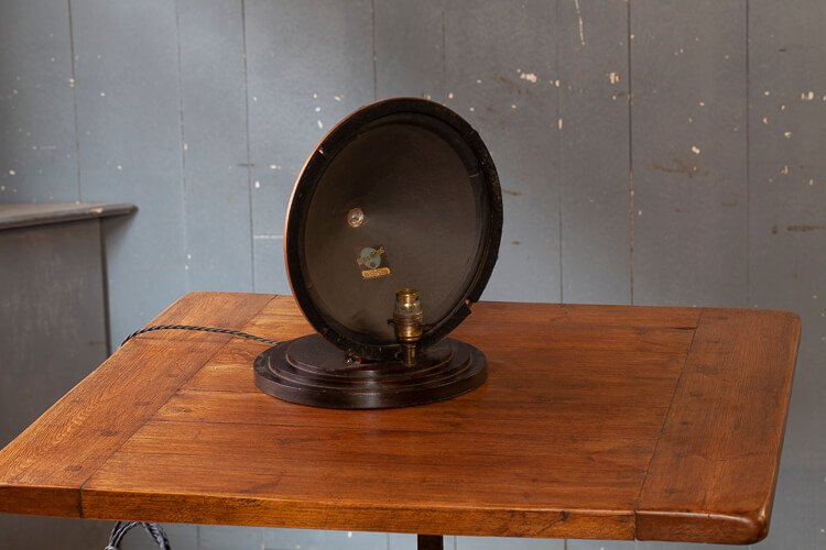 Upcycled Vintage Speaker Table Light Odeon Antiques