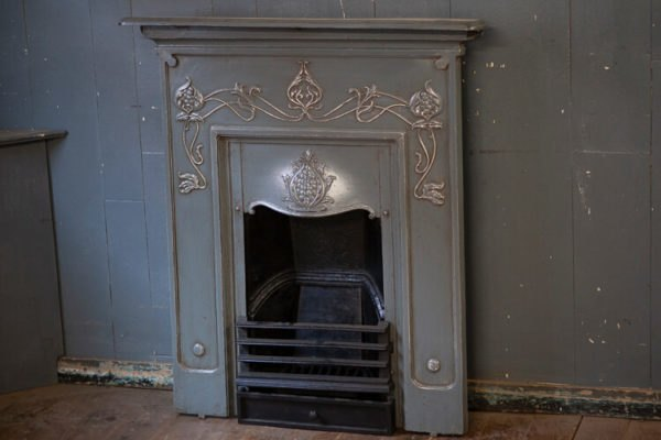 Victorian All in One Cast Iron Fireplace