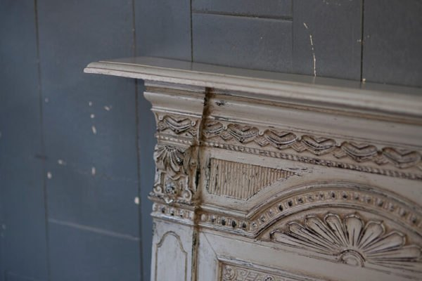 Victorian All in One Fireplace Top