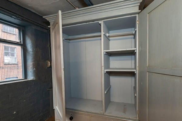 Victorian Double Wardrobe Interior